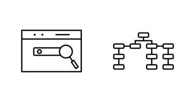 Unique Two Line Vector Icons Set