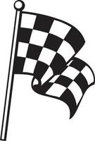 Racing Checkered Flag vector
