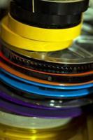 Rollos de grabadora retro vintage foto