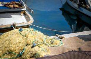 redes de pesca para equipos de pesca industrial foto