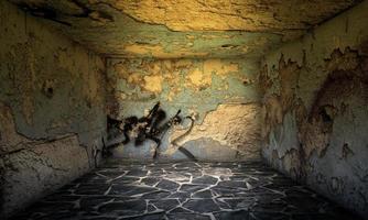 sala de piedra escenario interior urbano foto