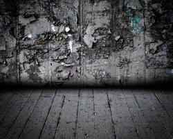 Stone Wall Urban Interior Stage photo