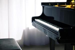 Classical Music Instrument Concert Piano on Scene photo