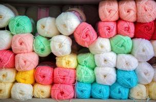 Cotton Colorful Textile Material Industrial Fabric Rolls photo
