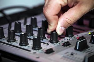 mezclador de música dj mezclador foto