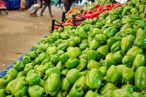 pimiento vegetal orgánico y saludable foto