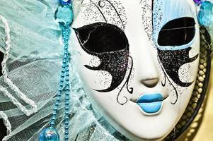 Carnival Venice Theater Costume Colorful Mask photo