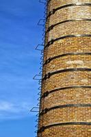 Brick Stone Made Factory Building Chimney photo