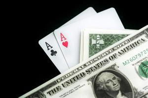 Money and Gambling Cards photo