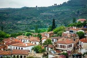 un hermoso centro de turismo antiguo ciudad sirince foto