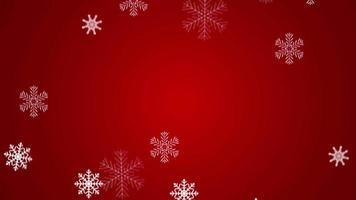 felice anno nuovo sfondo vacanza. video