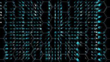 Hexagon abstract blur matrix alphabet photo