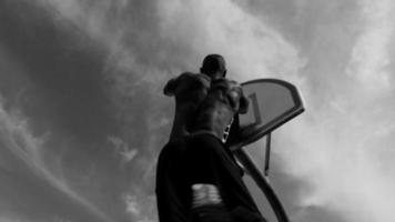Slam dunk slow motion video