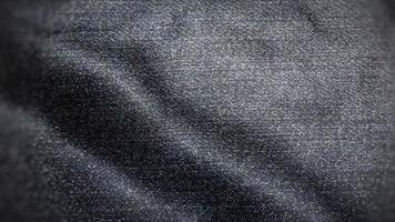 Dark Faded Blue Jeans Texture Flag video