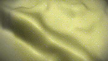 Abstract Yellow Flag with Slight Blue Background video