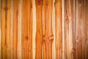 Fondo de textura de pared de tablón de madera marrón foto