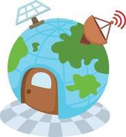 globe network vector