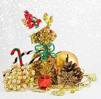 christmas decoration background photo