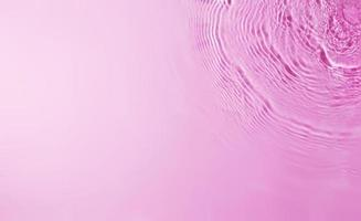 Texture of splashing water on pastel background photo