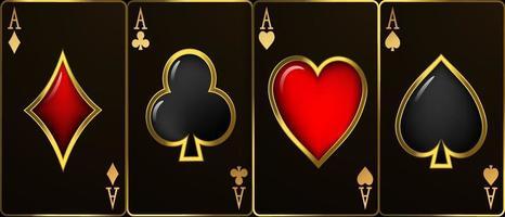 Casino Luxury vip invitation with confetti Celebration party Gambling vector