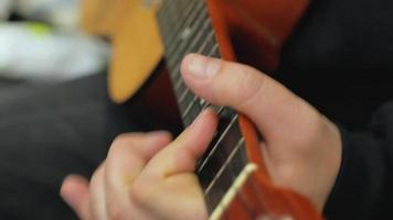 Tuning the Strings of A Ukulele video