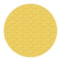 marco de brillo de círculo dorado. ilustración vectorial vector