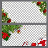 New Year and  Christmas Business cards, invitations, flyers vector