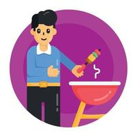 Cooking Grill Barbecue vector