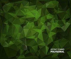 Abstract Military Camouflage Background Made of Geometric Triangles vector