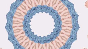 élément kaléidoscopique vibrant rose et bleu video