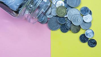 ahorro o economía o concepto empresarial. foto