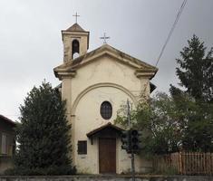 San rocco iglesia de saint roch en settimo torinese foto
