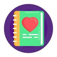Love  Favourite Book vector