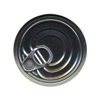 Canned food tin can top photo