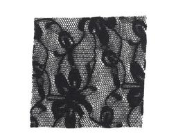 Black fabric sample photo