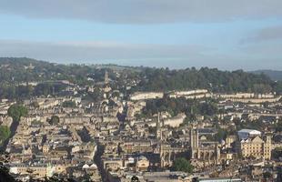 Aerial view of Bath photo
