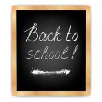 Blackboard - Back to school2 vector