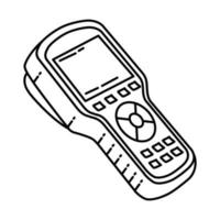 Scan Tool Icon. Doodle Hand Drawn or Outline Icon Style vector