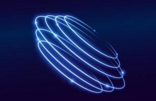 colorful light trails with motion blur effect, speed background vector
