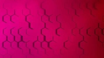Pink honeycomb background video