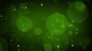 Green gradient abstract overlay video