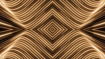 Gold abstract background video