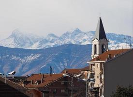 vista de settimo, italia foto
