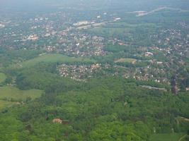 vista aerea de hamburgo foto