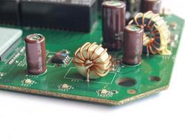 placa de circuito impreso foto