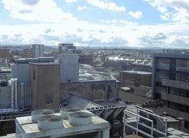 Vista de Glasgow, Escocia foto