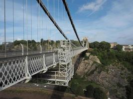 Clifton Suspension Bridge in Bristol photo