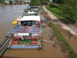 River Main flood in Frankfurt am Main photo