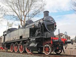 Steam train locomotive photo