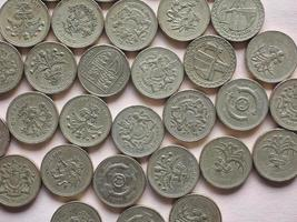 GBP Pound coins photo